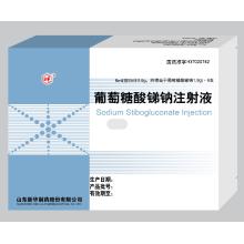 Injeção de gluconato de antimônio de sódio