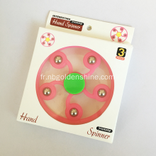 Flower Shape Hand Spinner Glow In The Dark