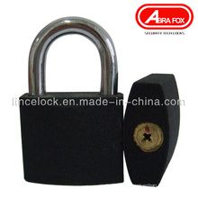 Grey Iron Padlock, Black Iron Padlock with Cross Key (303A)
