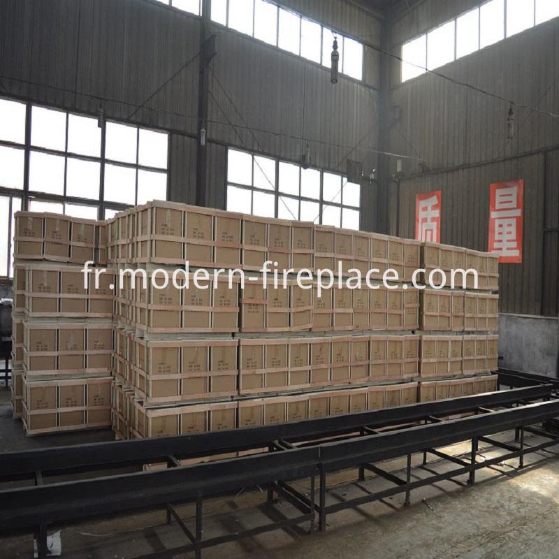 Wood Burning Fireplace Packaging