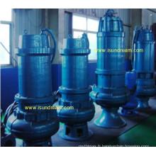 Pompe d'égout submersible électrique 50wq15-8-0.75-600wq4000-20-315