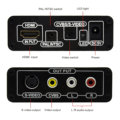 HDMI zu RCA AV / S-Videokonverter (720P / 1080P HD Upscaler)