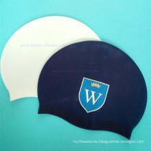 Sombrero de natación de goma de alta calidad Beachwear