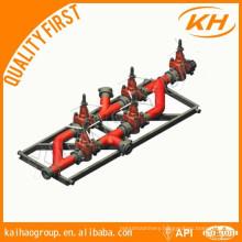 API Drilling Mud Manifold, mud valve
