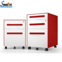 Modern design good sale office used 3 drawer mobile pedestal cabinet