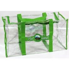 Sac fourre-tout transparent en PVC Duffle