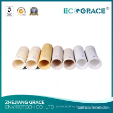 Extracción de polvo industrial Nomex Bolsa de filtro de polvo para el secado de plantas de tabaco