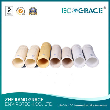 High Heat Resistant Cement Plant Dust Baghouse Fiberglass Filter Bag