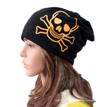 Fashion Skull Printed Cotton Knitted Winter Warm Sports Hat (YKY3132)