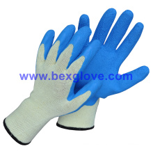 10 Gauge Polyester Liner, Latex Coating, Foam Finish Glove