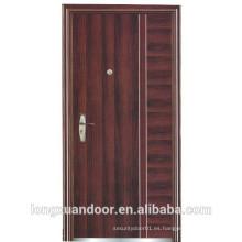 Puerta de acero de fuego clasificado utilizado para la puerta exterior