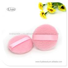 Maquillage rose Powder Puff pour soins de la peau