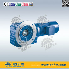 Reductor de velocidad con bisel helicoidal montado en brida para transmisión mineral