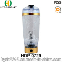 2017 Newly BPA Free Plastic Electric Protein Shake Bottle, Plastic Vortex Coffee Shake Bottle (HDP-0729)