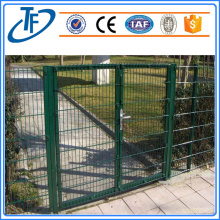 Tinggi 1300mm Colorful Double Wire Fence