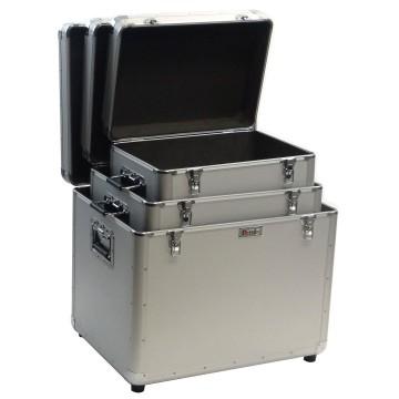 Тройной алюминиевый футляр для хранения инструмента