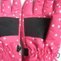 Custom Children Striped Design Ski Gloves
