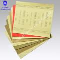 Papel de lija de bajo precio, papel abrasivo de granate, papel de lija para madera