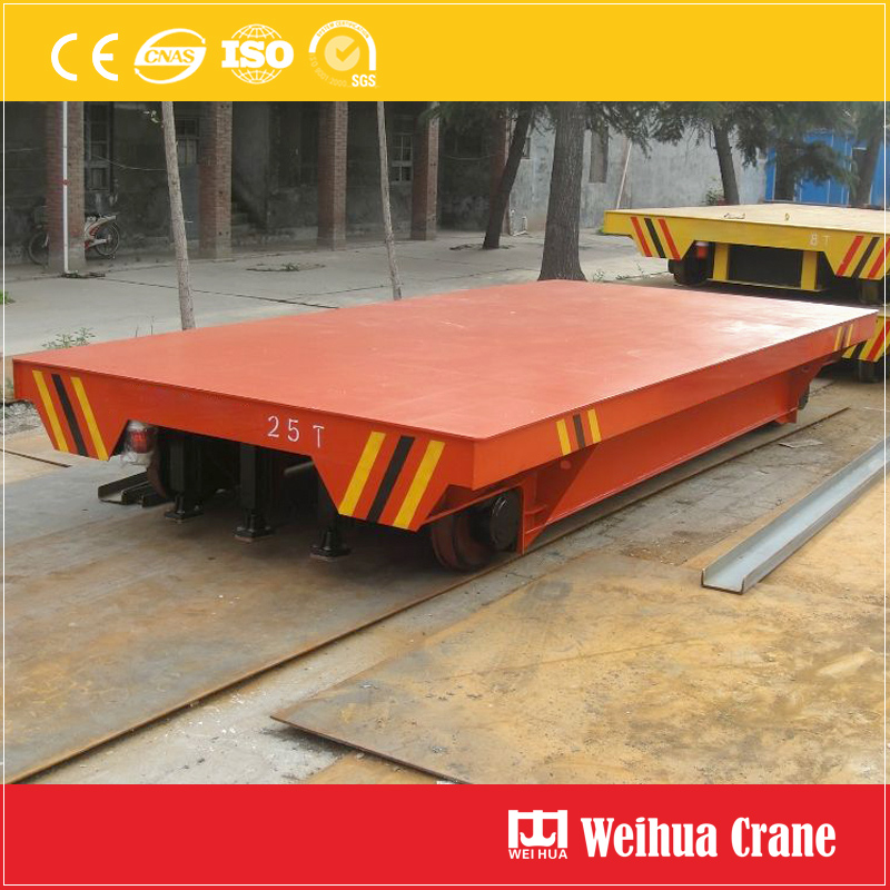 Electric Flat Transfer Cart 2