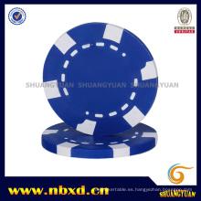 14G de 2 tonos de arcilla plana imprescindible fichas de póquer (SY-E04)