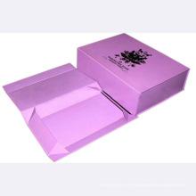 2016 gros logo imprimé boîte pliante en carton recyclable cosmétique dans la boîte cosmétique, boîte de parfum