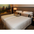 hot sale hotel bed sheet 100% cotton