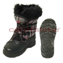 Fashion Removable Felt TPR Kids Snow Boots (SB002)