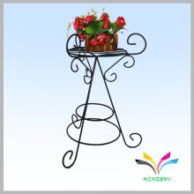 Prateleira de flor de ferro ao ar livre para jardim