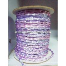 3mm purple satin cord