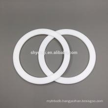 food grade PTFE teflon seal o ring/white PTFE seal gasket Viton FKM flat rings gaskets washer