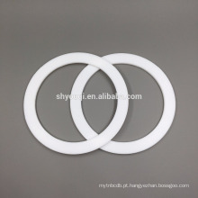 Selo de teflon de PTFE de grau alimentício o anel / vedação de vedação de PTFE branco Viton FKM arruela de vedação de anéis de vedação plana