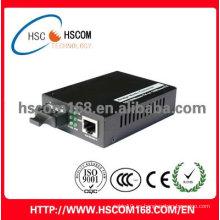 MB convertidor de medios de fibra óptica