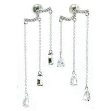Bijoux à la mode et bonne qualité Stone for Woman 925 Silver Earring (E6483)