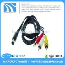 7 Pin S-Video zu 3 RCA Kabel TV männlich für PC Laptop 5FT