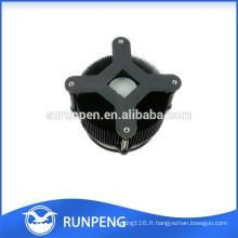 Radiateur en aluminium de haute qualité de lampe de moulage mécanique sous pression