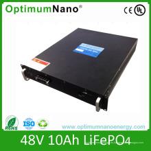 Batería de iones de litio de Telecom Base 48V 10ah
