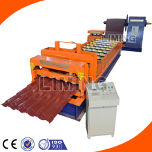 New Arrival Glazed Step Roof Tile Roll Forming Line LM-828