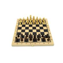 Atacado morden China jogo de xadrez de madeira portátil