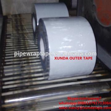 Pipe wrap outer tape similar polyken white tape