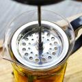 Hitzebeständiger Glastee-Kessel, Edelstahl-Kolben