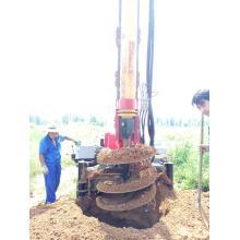 perfuração de estacas construção de estacas de fundação