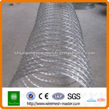 shunxing hot dip galvanized/pvc coated cheap razor barbed wire