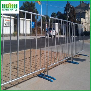 Galvanized Road Satety Crowd Control Barrier