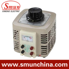 5kVA Contact Voltage Regulator Input 220VAC Single Phase Output 0~250VAC