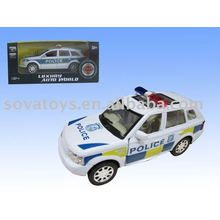 P/B die cast police car