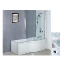 2014 Hot shower acrylique corner shower bathtub