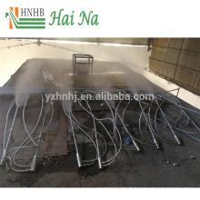Purificador de tratamento de gases de combustão para limpeza de poeiras