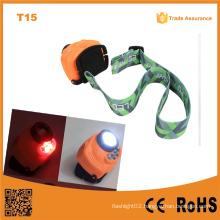 T15 Handsfree Switch Outdoor 3PC AAA Battery Head Lamp Multi-Function LED Sensor Sensor LED Light$
