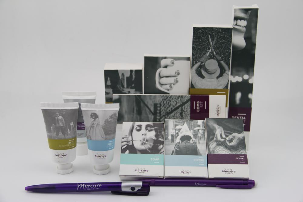 Customized Hotel Amenities For Mercure Hotel