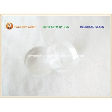 Pilar de cristal de vidrio cilindro (S079)